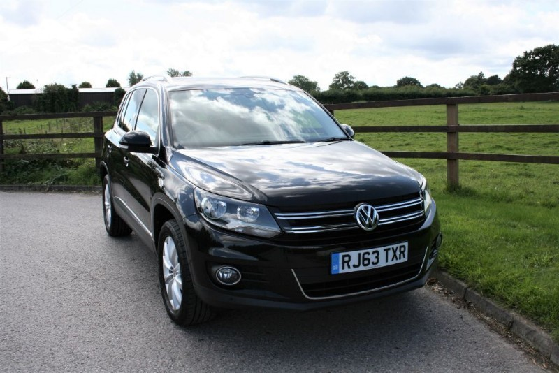 used VW Tiguan MATCH TDI BLUEMOTION TECHNOLOGY 4MOTION in aldershot-hampshire