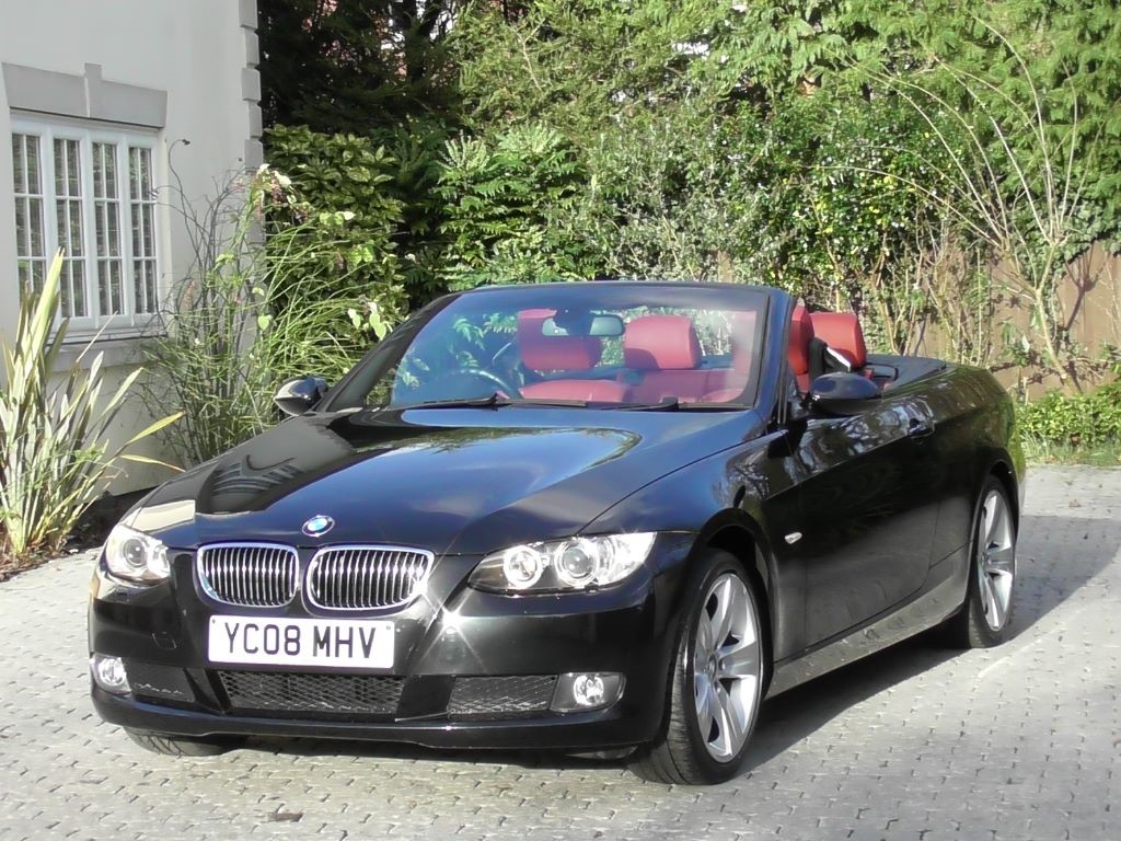 Used Black Sapphire Met Coral Red Dakota Leather BMW I For - Bmw 3251