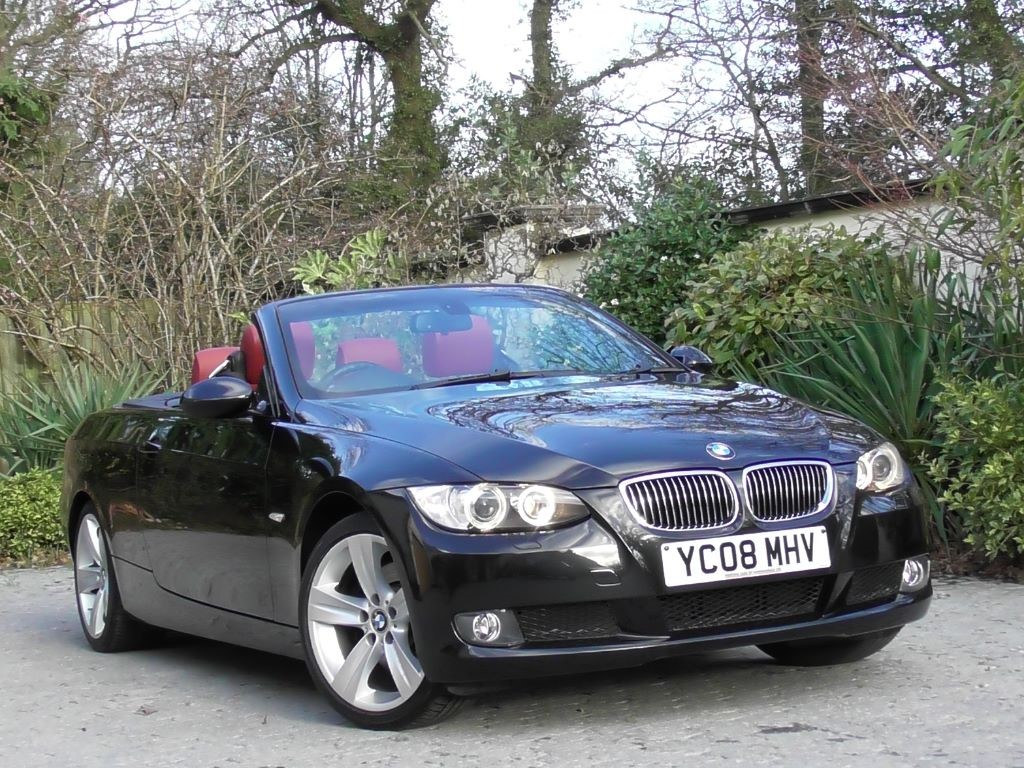 Used Black Sapphire Met Coral Red Dakota Leather BMW I For - 325i bmw convertible