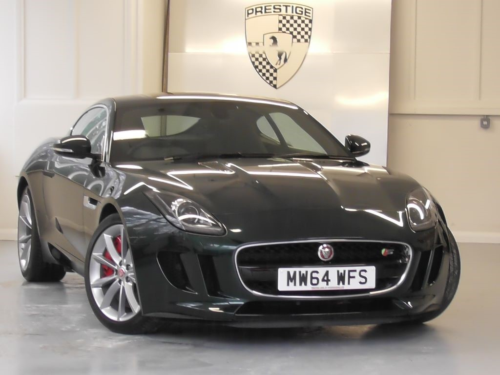 Used British Racing Green Met With Black Leather Jaguar F Type For