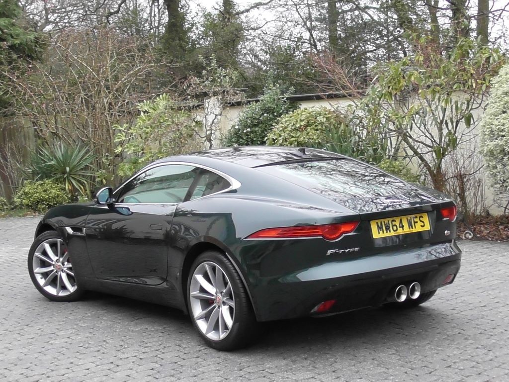 is in updated this green jaguar model of car an the pin f type used