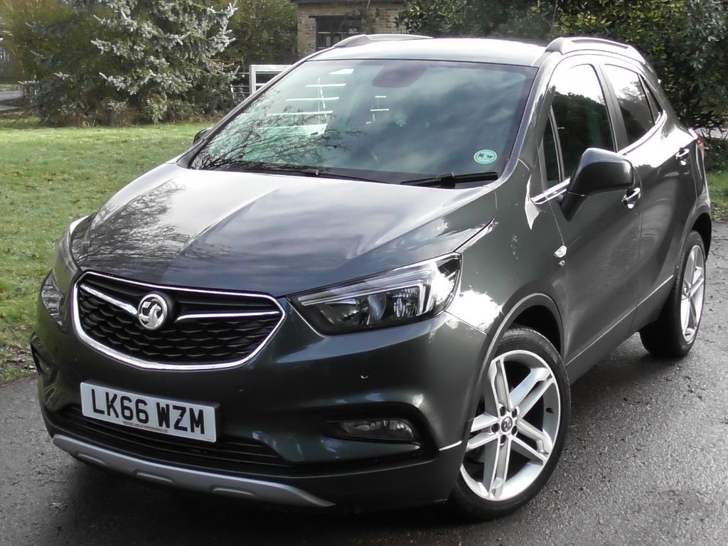 Used Quantum Grey Metallic Vauxhall Mokka For Sale Surrey
