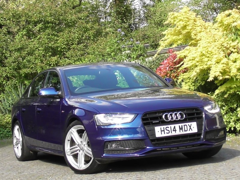 used Audi A4 3.0 TDI Quattro S Line Black Edition S-Tronic in windlesham-surrey