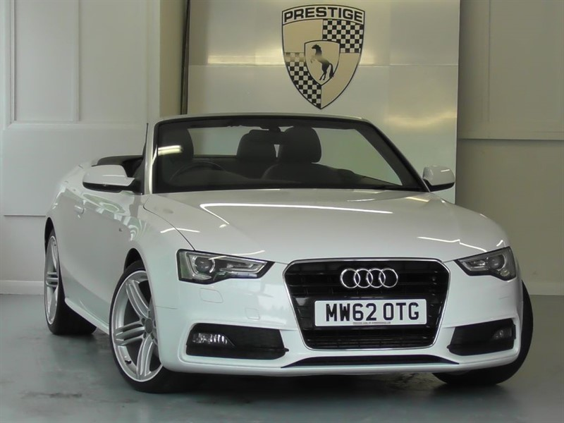 used Audi A5 2.0 TDI S LINE Convertible Auto in windlesham-surrey