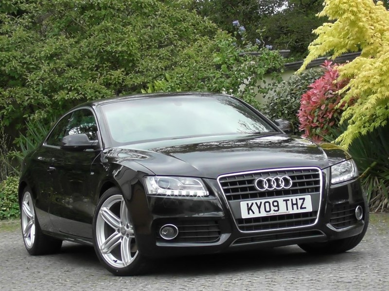 used Audi A5 2.0 TFSI S Line Coupe Auto in windlesham-surrey