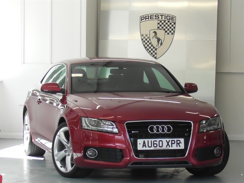 used Audi A5 3.2 FSI Quattro S Line Special Edition Auto in windlesham-surrey