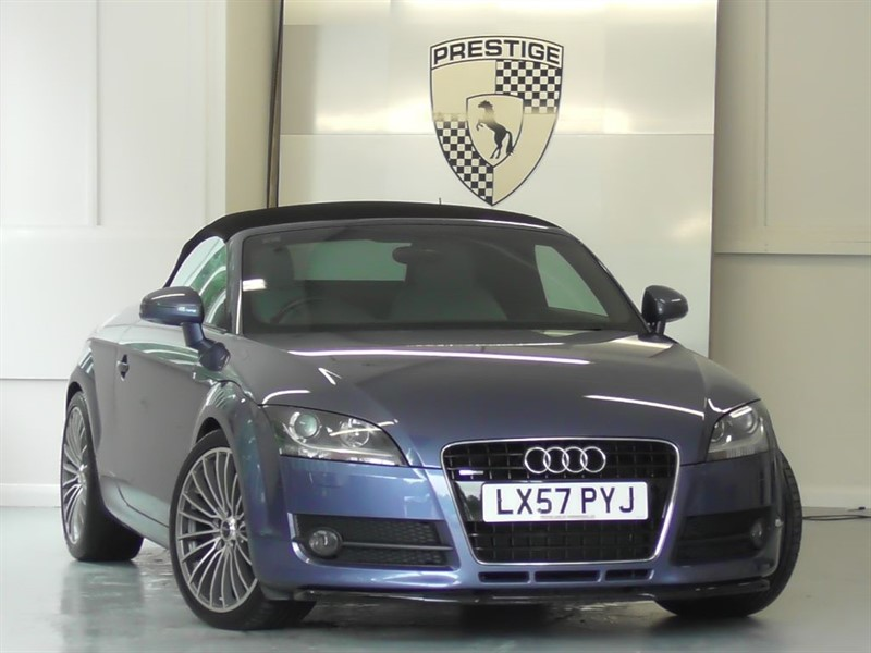 used Audi TT 3.2 Quattro DSG Convertible in windlesham-surrey