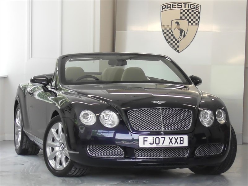 used Bentley Continental GTC Convertible in windlesham-surrey