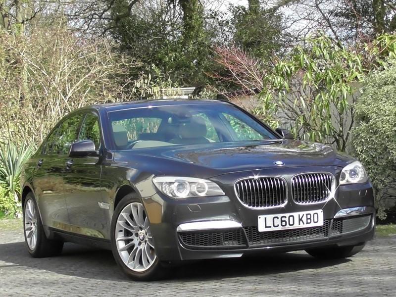 used BMW 750Li M Sport Auto LWB in windlesham-surrey