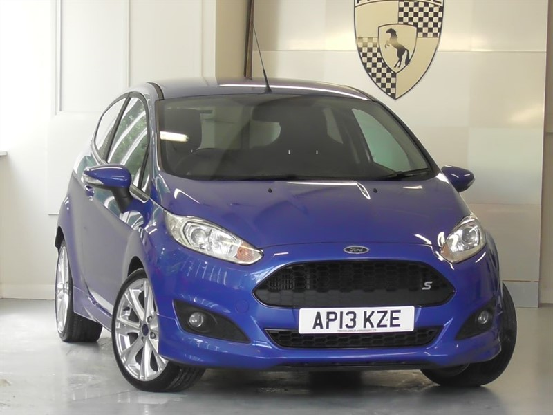 used Ford Fiesta 1.6 TDCI Zetec S in windlesham-surrey