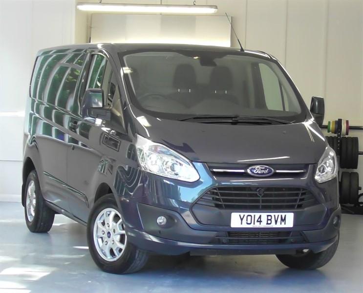 used Ford Transit Custom 290 LIMITED LR P/V in windlesham-surrey