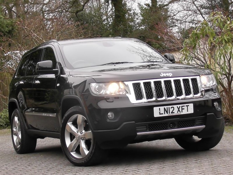 used Jeep Grand Cherokee 3.0 V6 CRD Overland Auto in windlesham-surrey