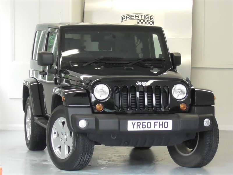 used Jeep Wrangler 2.8 CRD Ultimate Auto in windlesham-surrey