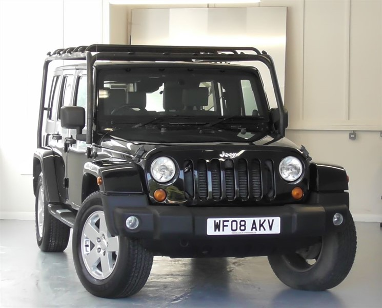 used Jeep Wrangler 2.8 CRD Sahara Unlimited Auto in windlesham-surrey