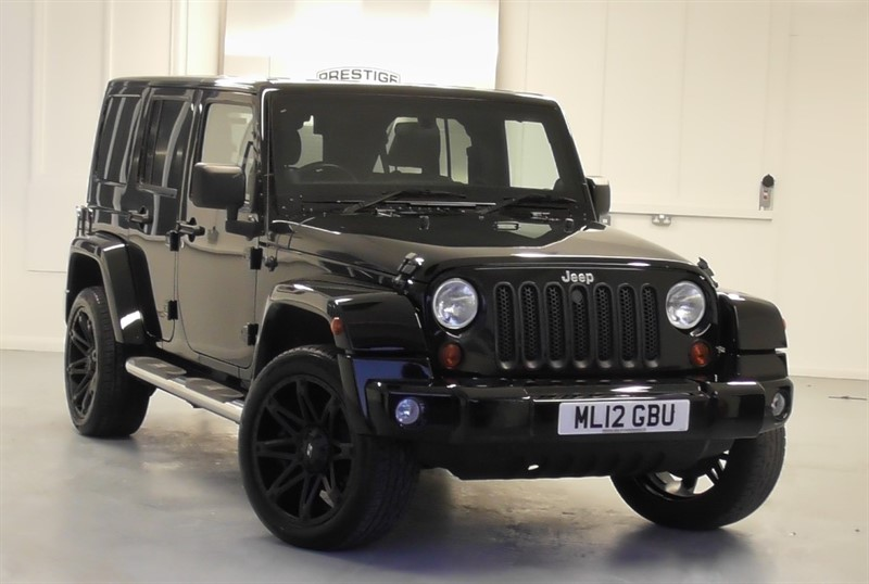 used Jeep Wrangler 2.8 CRD OVERLAND UNLIMITED in windlesham-surrey