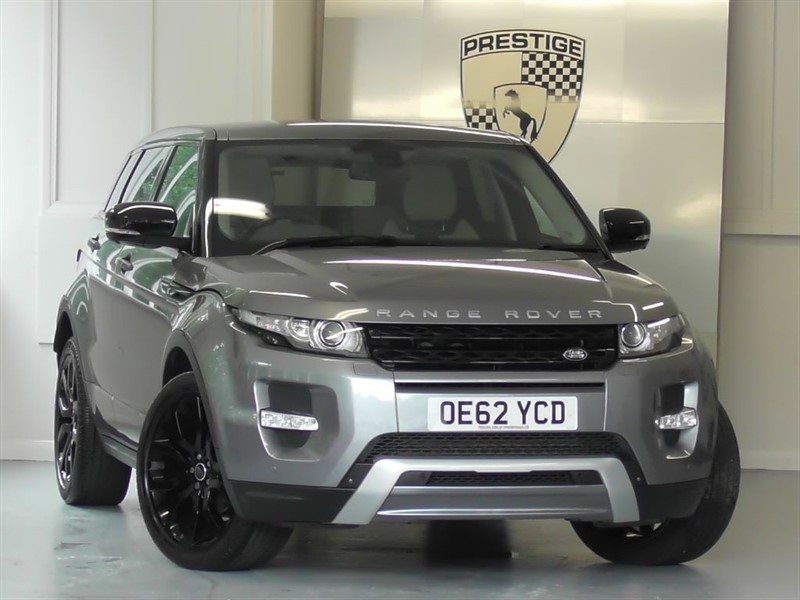 used Land Rover Range Rover Evoque SD4 DYNAMIC LUX Auto (Massive Spec) in windlesham-surrey
