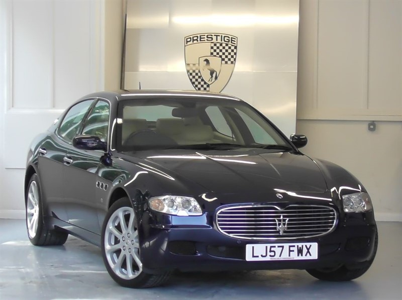 used Maserati Quattroporte V8 Automatic in windlesham-surrey