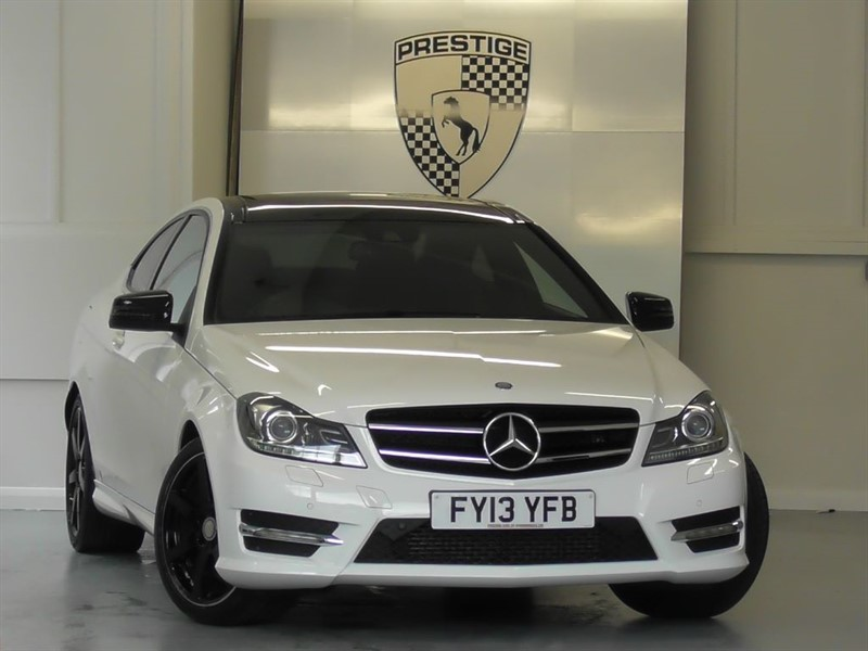 used Mercedes C250 BlueEFFICIENCY AMG Sport Plus 7G Auto Coupe in windlesham-surrey