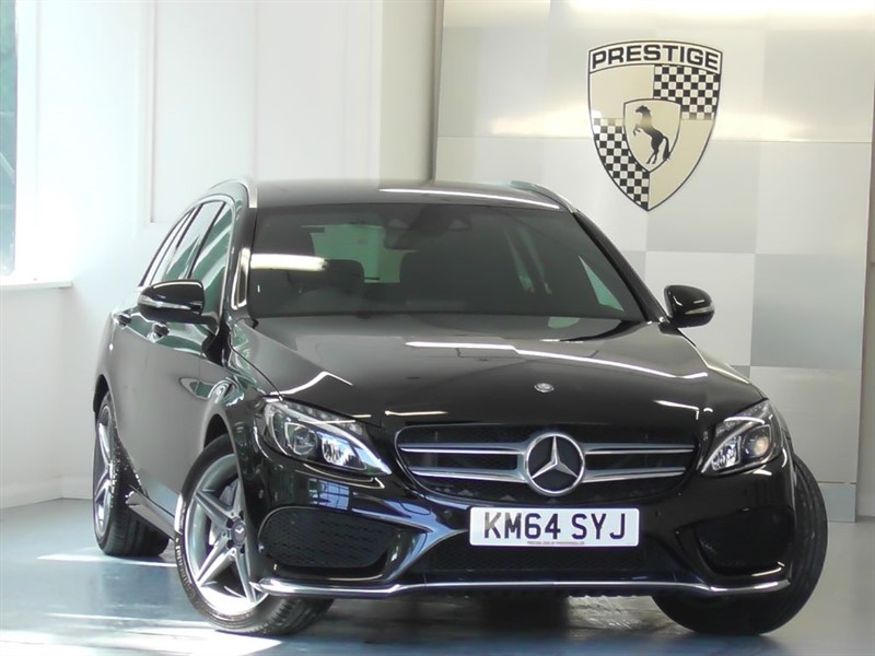 used Mercedes C250 BLUETEC AMG Line Estate 7G Auto in windlesham-surrey
