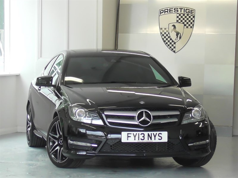 used Mercedes C350 BlueEFFICIENCY AMG Sport Plus 7G Auto Coupe in windlesham-surrey