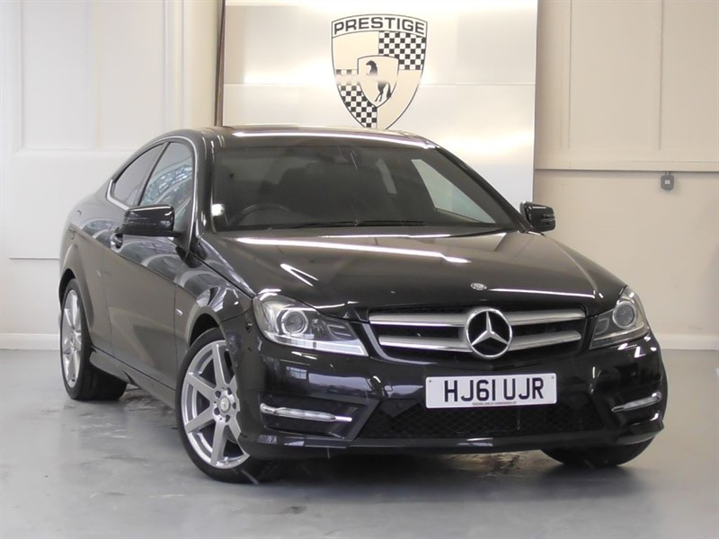 used Mercedes C350 BlueEFFICIENCY AMG Sport Coupe 7G Auto in windlesham-surrey