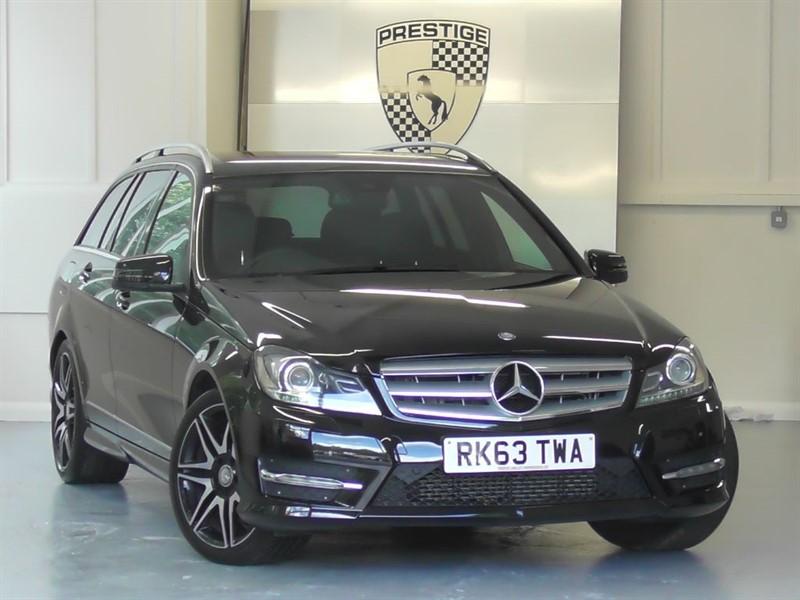 used Mercedes C350 CDI BlueEFFICIENCY AMG Sport Plus Estate 7G Auto in windlesham-surrey