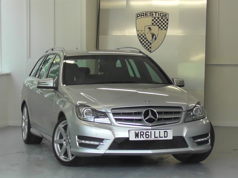 used Mercedes C350 BlueEFFICIENCY Sport 7G Auto Estate in windlesham-surrey