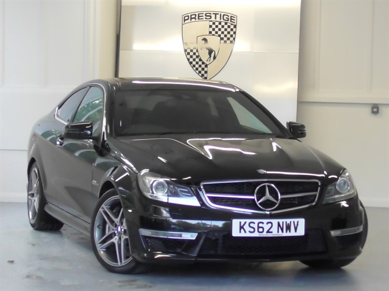 used Mercedes C63 AMG MCT 7S Auto in windlesham-surrey