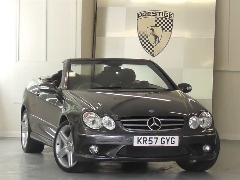 used Mercedes CLK280 Sport Convertible 7G Auto in windlesham-surrey