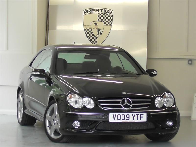 used Mercedes CLK320 CDI Sport 7G auto in windlesham-surrey