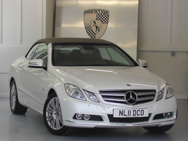 used Mercedes E200 CGI BlueEFFICIENCY SE Convertible  in windlesham-surrey