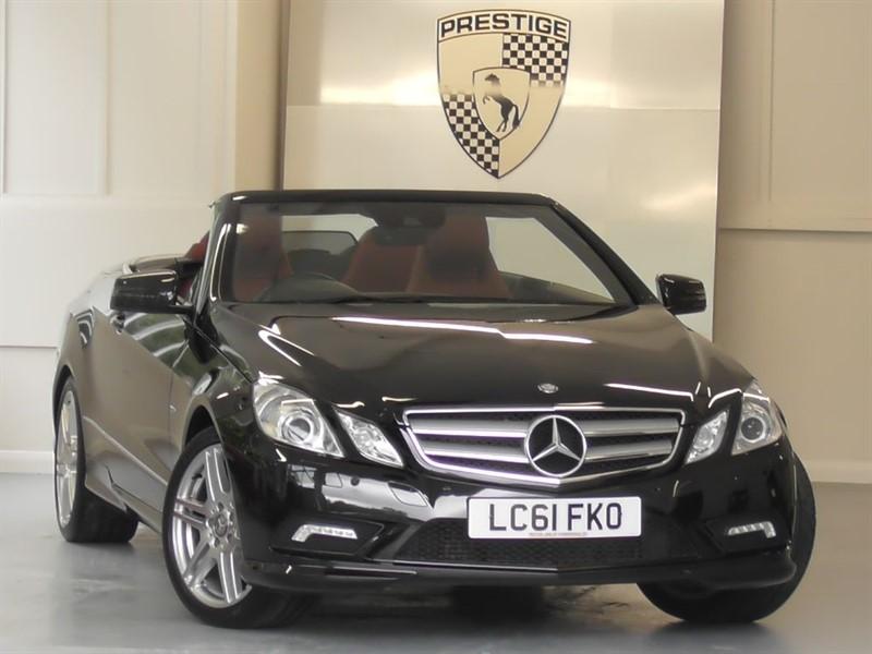 used Mercedes E350 CDI BlueEFFICIENCY Sport Convertible 7G Auto in windlesham-surrey