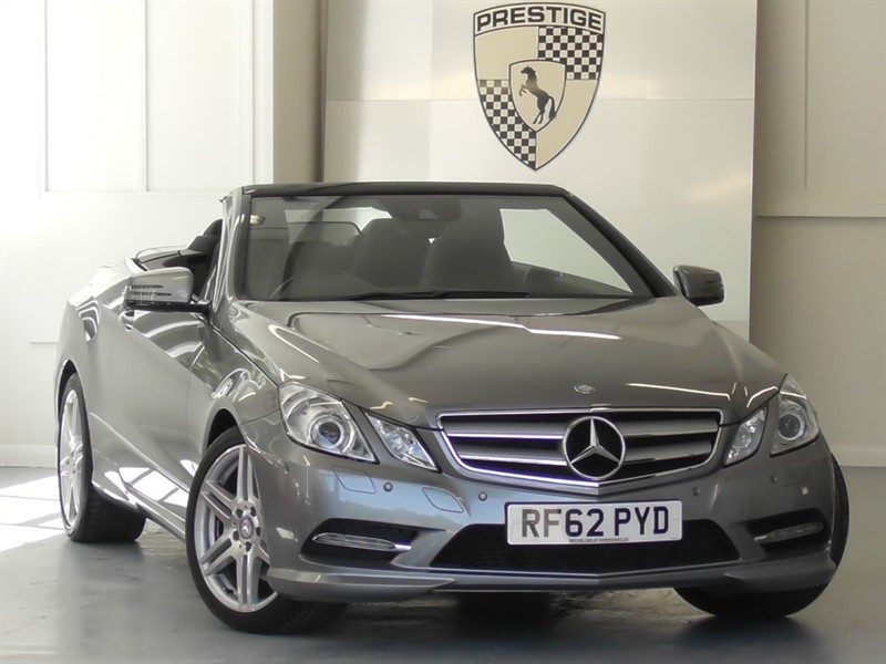 used Mercedes E350 CDI BlueEFFICIENCY Sport Convertible 7G Auto in windlesham-surrey