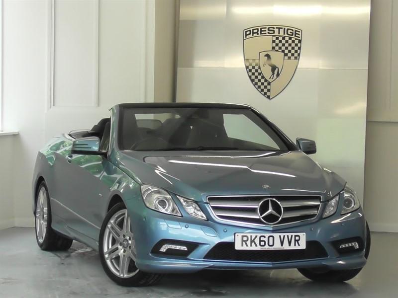 used Mercedes E350 CGI BlueEFFICIENCY S/S Sport Convertible 7G Auto in windlesham-surrey