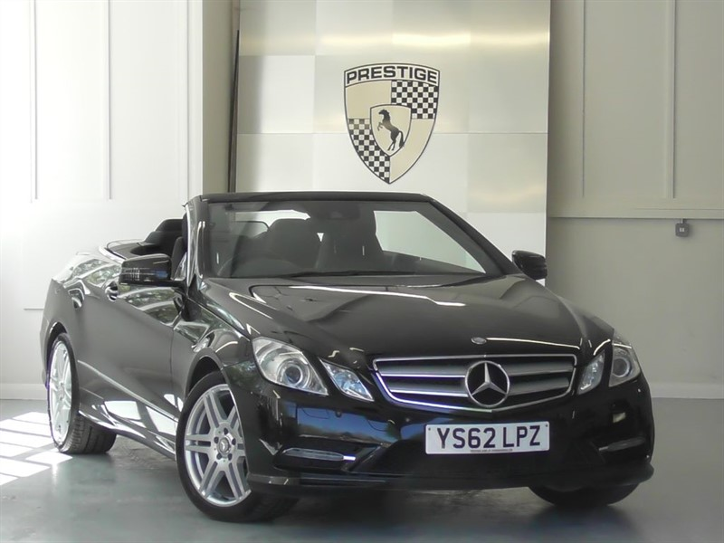 used Mercedes E350 CGI BlueEFFICIENCY S/S Sport Convertible 7G Auto in windlesham-surrey