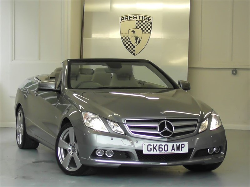 used Mercedes E350 CGI BlueEFFICIENCY SE 7G Auto Convertible in windlesham-surrey