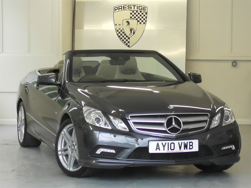 used Mercedes E350 CGI BlueEFFICIENCY Sport 7G Auto Convertible in windlesham-surrey