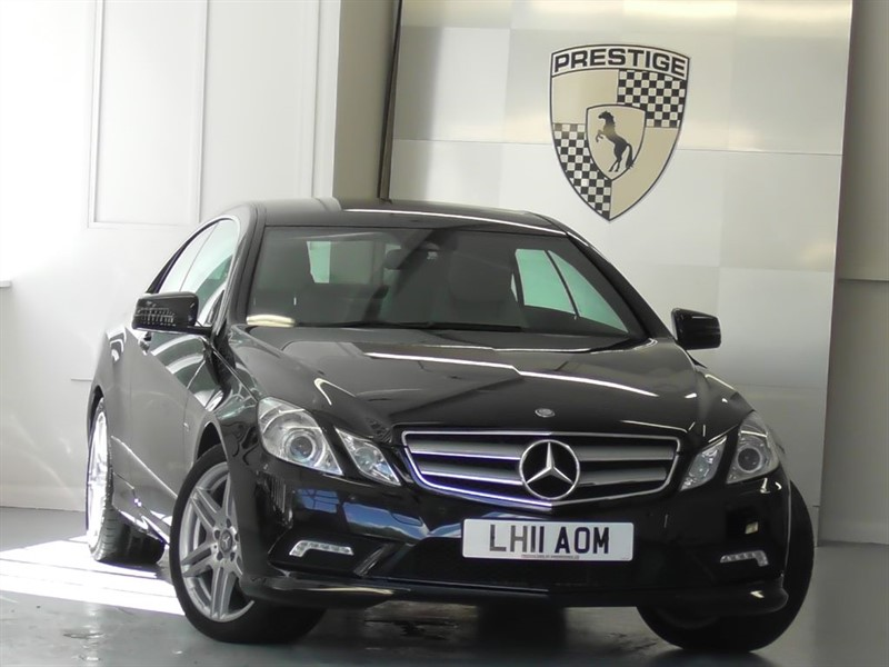 used Mercedes E350 CGI BlueEFFICIENCY S/S Sport Coupe 7G Auto in windlesham-surrey