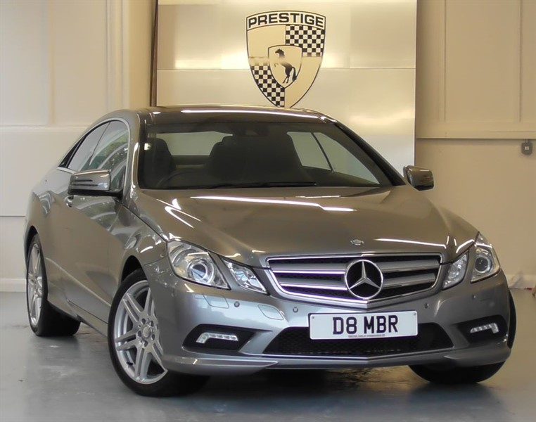 used Mercedes E350 CGI BlueEFFICIENCY Sport Edition 125 7G Auto Coupe in windlesham-surrey