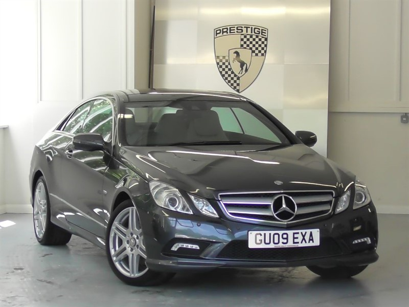 used Mercedes E350 CGI BlueEFFICIENCY Sport Coupe 7G Auto  in windlesham-surrey