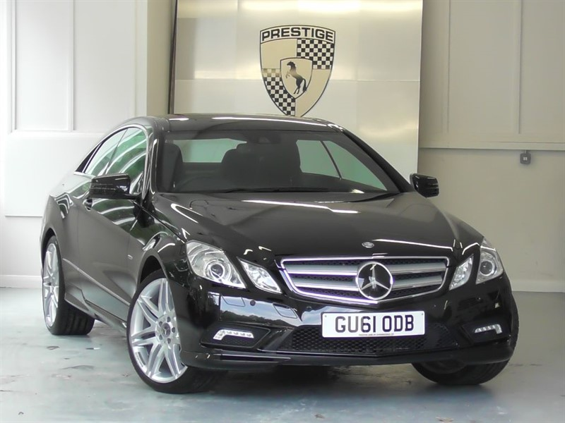 used Mercedes E350 CGI BlueEFFICIENCY Sport Edition 125 Coupe 7G Auto in windlesham-surrey