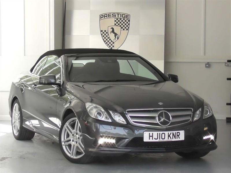 used Mercedes E500 Sport 7G Auto Convertible in windlesham-surrey