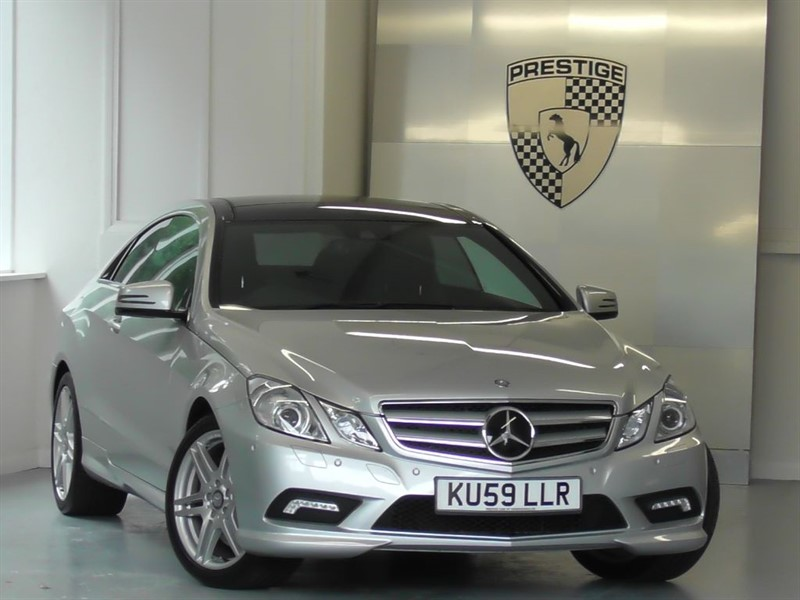 used Mercedes E500 Sport Coupe 7G Auto in windlesham-surrey