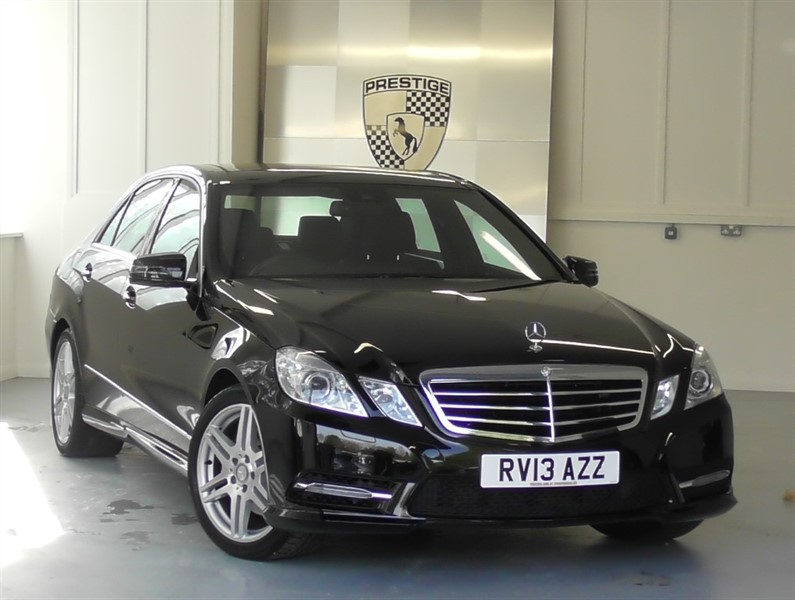 used Mercedes E200 CDI BLUEEFFICIENCY S/S SPORT 7G Auto in windlesham-surrey