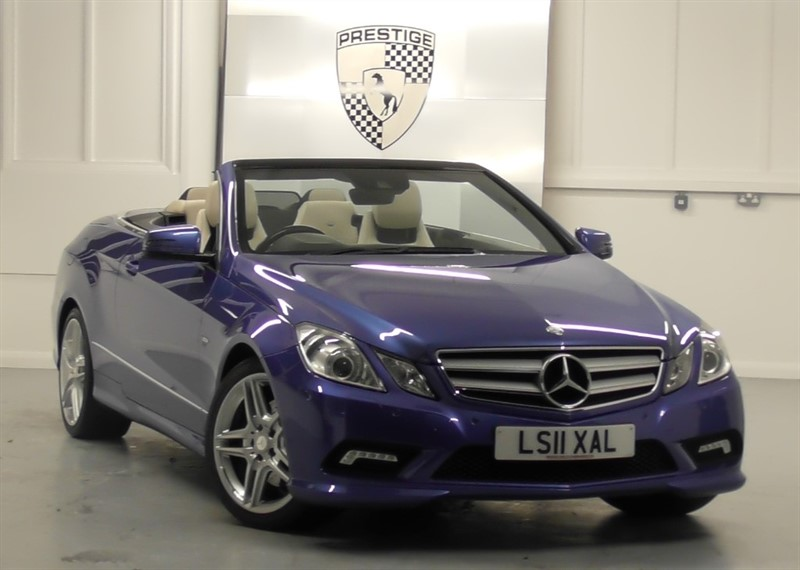 used Mercedes E350 CGI BlueEFFICIENCY Sport Convertible 7G Auto in windlesham-surrey