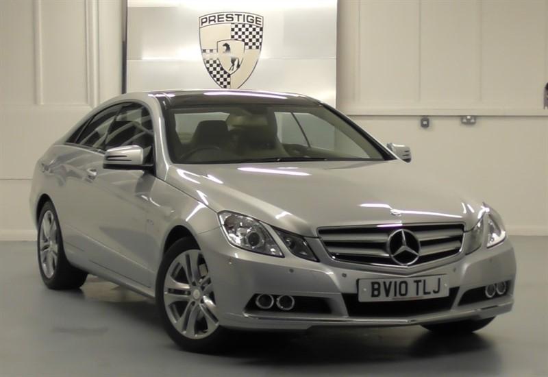 used Mercedes E350 CGI BlueEFFICIENCY SE Coupe 7G Auto in windlesham-surrey