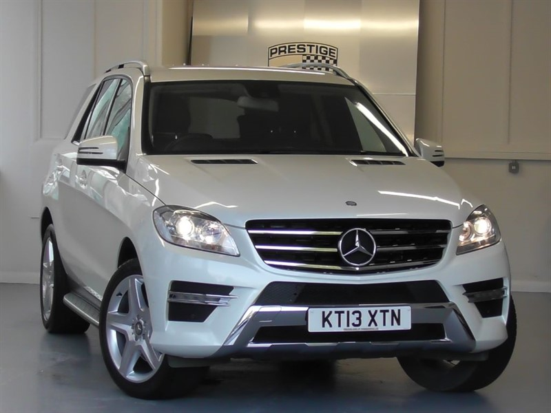 used Mercedes ML350 BLUETEC AMG Sport 7G Auto in windlesham-surrey