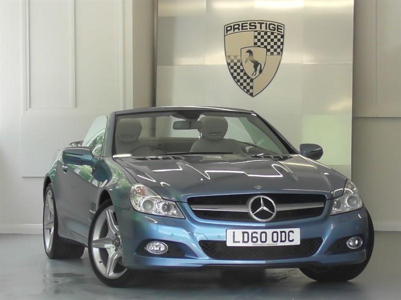 used Mercedes SL500 7G Auto (Pan Roof) in windlesham-surrey