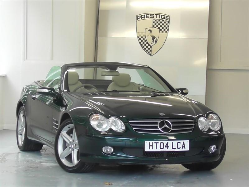 used Mercedes SL500 7G Auto Panoramic Roof in windlesham-surrey