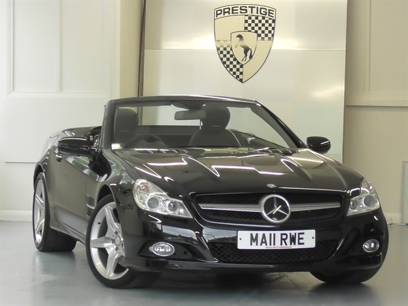 used Mercedes SL500 7G Auto Panoramic Roof in windlesham-surrey